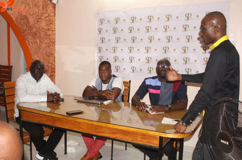 """Photo: Iris Médias L'un des premiers aspects de cette représentation en terre ivoirienne sera donc de palier à l'un des plus gros problèmes qui minent le showbiz ivoirien : """"La prise en charge médicale des artistes et acteurs de la culture ivoirienne"""""""