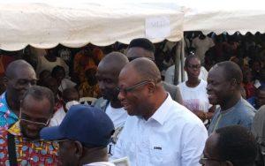 Retour du Pdt Gbgabo / Bonoua, dernier meeting:  Mobilisations de la populations locales