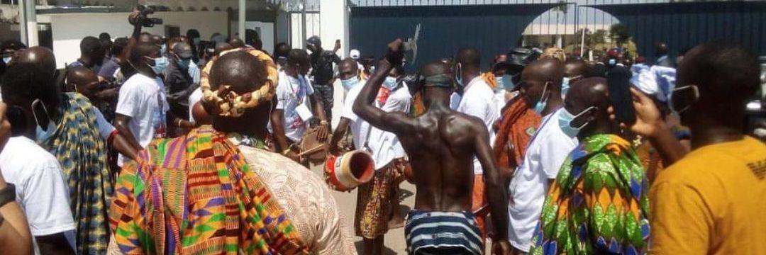L'aéroport international FHB de Port-Bouët vit au rythme de la culture ivoirienne