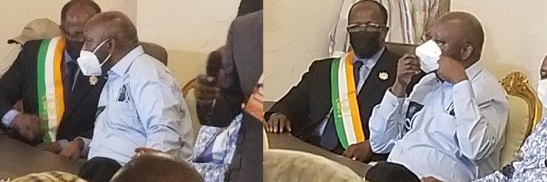 Les parlementaires EDS sont sur place avec  le pdt  Gbagbo