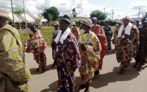Le président Laurent Gbagbo à Mama : Chefs traditionnels venus de partout