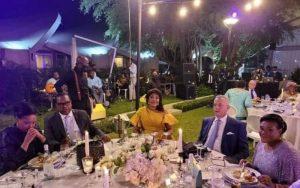 Gbagbo accueilli par le protocole d'Etat de Tshisekedi, assiste au mariage de Jean-Pierre Bemba