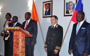 Mme Simone Ehivet Gbagbo prend part à la célébration de la fête nationale de la Russie