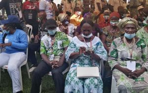 Visite du président Gbagbo au président Bedié à Daoukro
