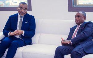 Le ministre KKB reçoit le président de la Fidhop Dr Boga Sako Gervais