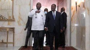 Rencontre entre Gbagbo et Ouattara 27 Juillet 2021