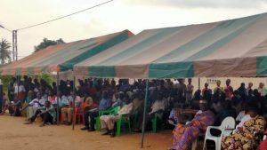 Dr Boga Sako Gervais retourne à Gnaman son village, après 10 ans d'exil